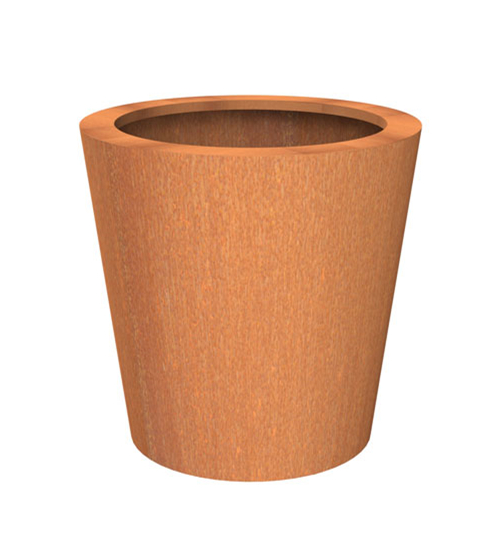 FO-9C01 Corton Steel Tapered Planter