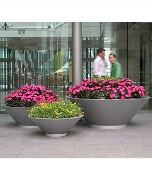 FO-9051 Stainless Steel Bowl Flowerpot