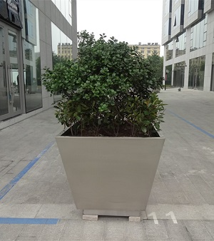 FO-9053 Stainless Steel Tapered Flowerpot